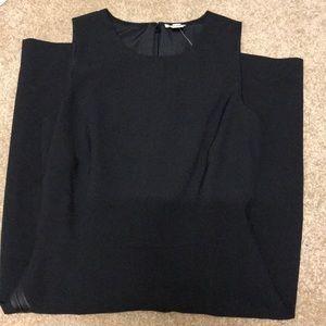 J.Crew Black Fitted Dress